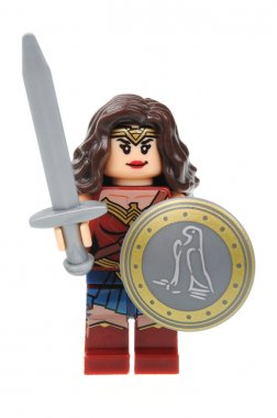Wonder Woman Lego Minifigure