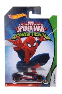 Ultimate Spiderman Hot Wheels Diecast Toy Car
