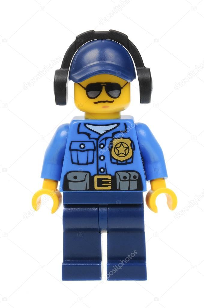 Policeman Lego Minifigure – Stock Editorial Photo ...