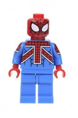 UK Spiderman Lego minifigure