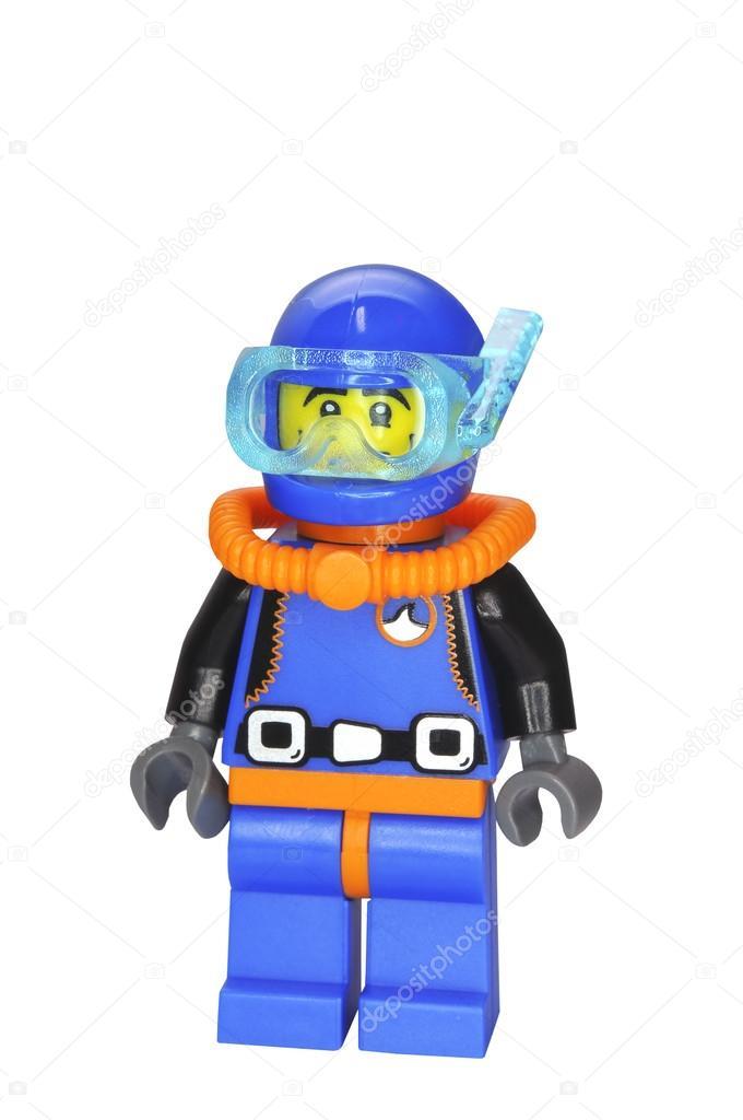 Deep Sea Diver Lego Minifigure