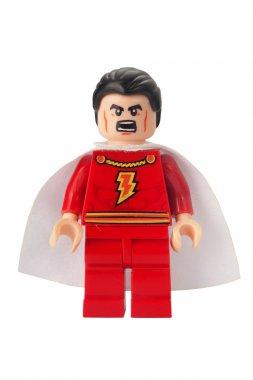 Captain Marvel Custom Lego Minifigure