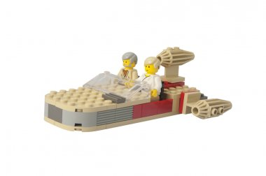 Star Wars Landspeeder Lego Kit