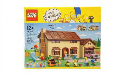 The Simpsons House Lego
