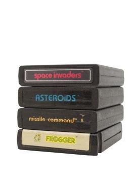 Atari 2600 Game Cartridges