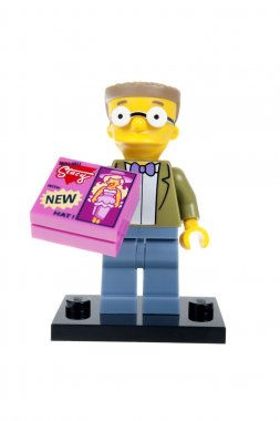 Waylon Smithers Lego Minifigure