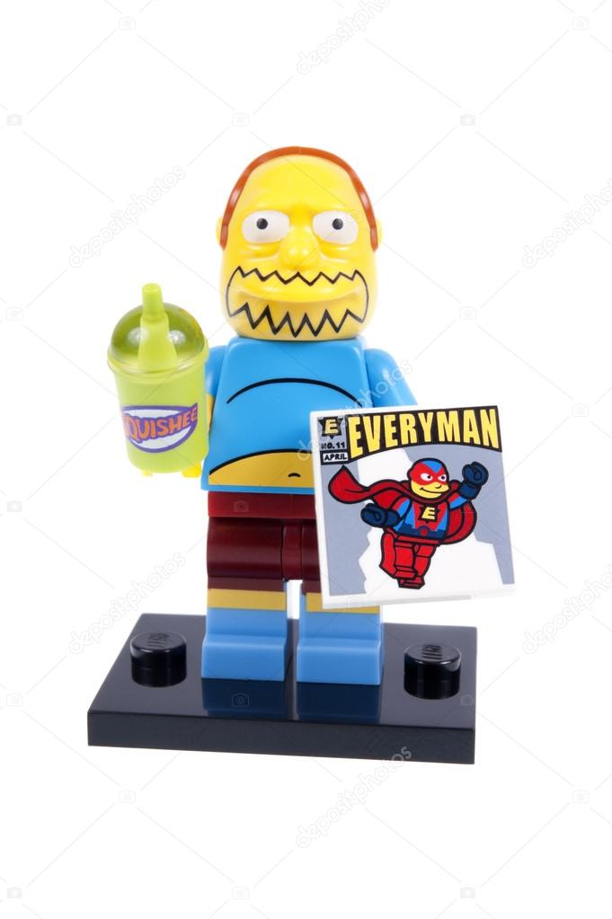 Comic Book Guy Lego Minifigure – Stock Editorial Photo © ctrphotos ...