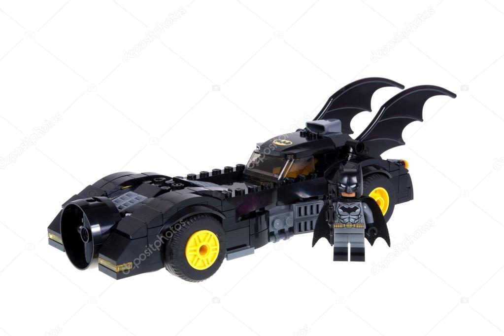 lego batmobile and batman minifigure stock editorial. Black Bedroom Furniture Sets. Home Design Ideas