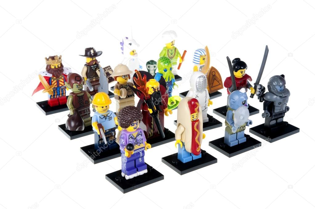 Complete Series 13 Lego Minifigure Collection