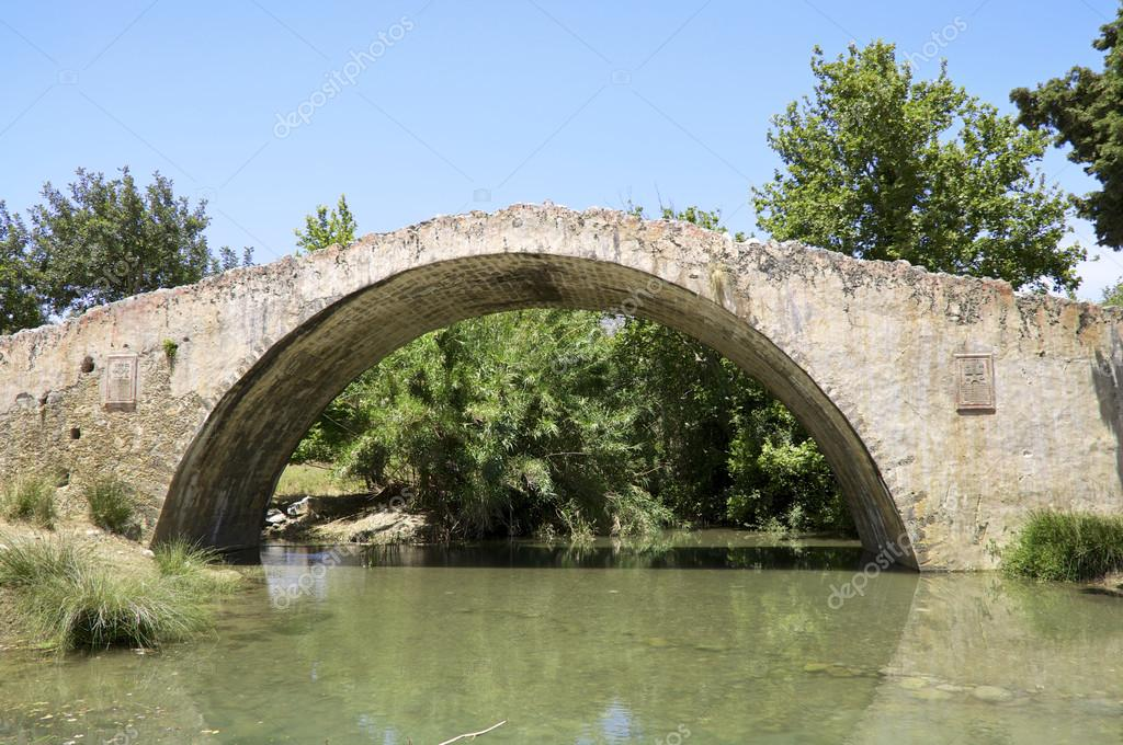 Venetian Style bridge in venetian style on crete — stock photo © kslfoto #58148249