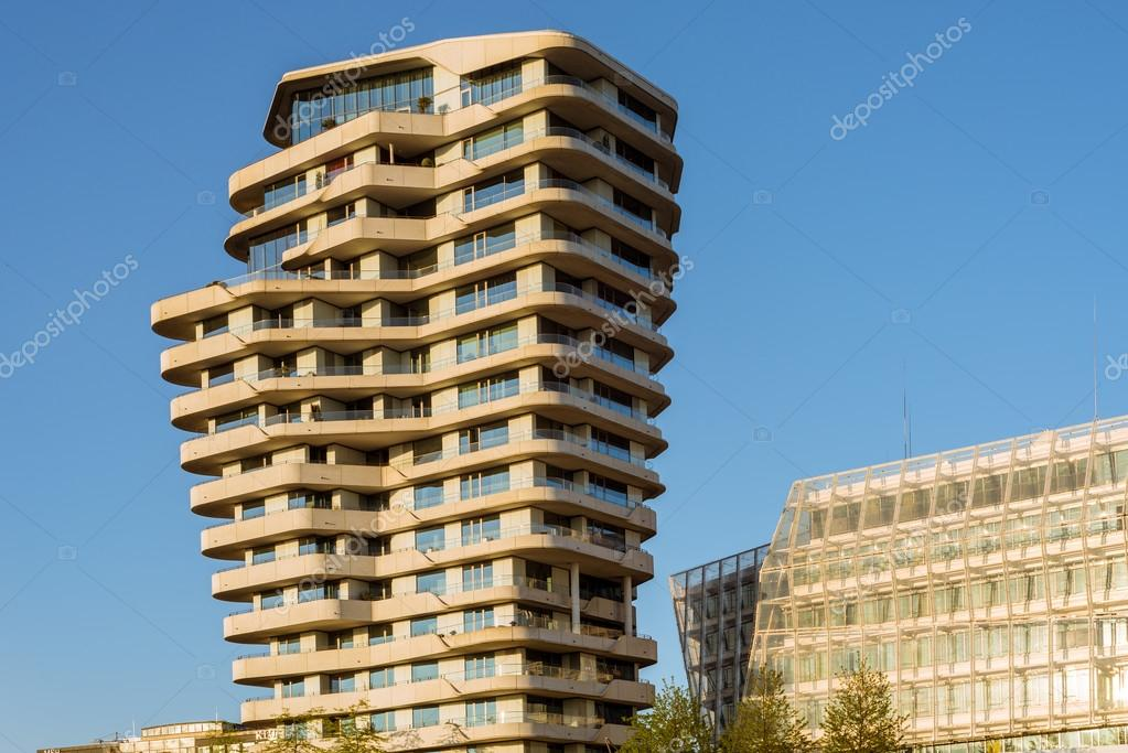 Der Marco Polo Tower in Hamburg — Redaktionelles Stockfoto ...