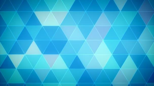 Triangle Polygon Loop 01 Winter