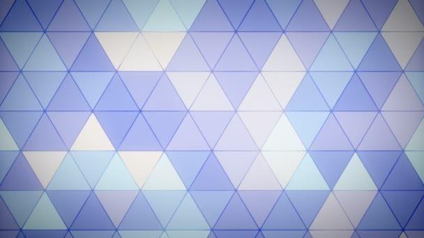 Trojúhelník mnohoúhelník smyčky 09 levandule