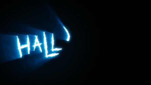 Dráp lomítka Halloween modrá