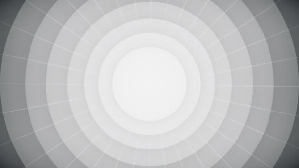The end typography old movie animation title screen