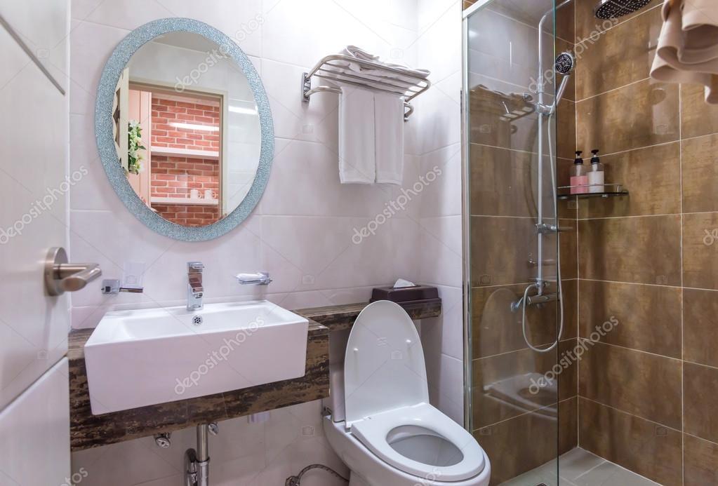 Badkamer En Toilet : Interieur van de badkamer en toilet in modern toilet