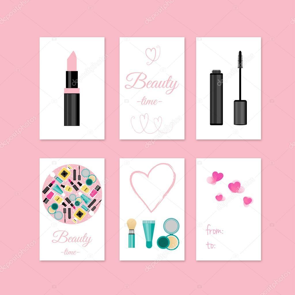 tarjeta regalo maquillaje
