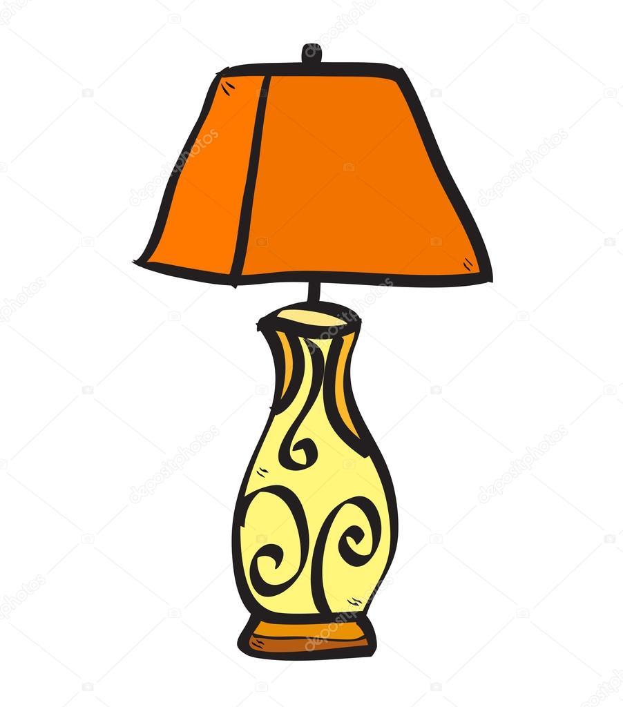 S 237 Mbolo Da Luz De Desenhos Animados Vetores De Stock
