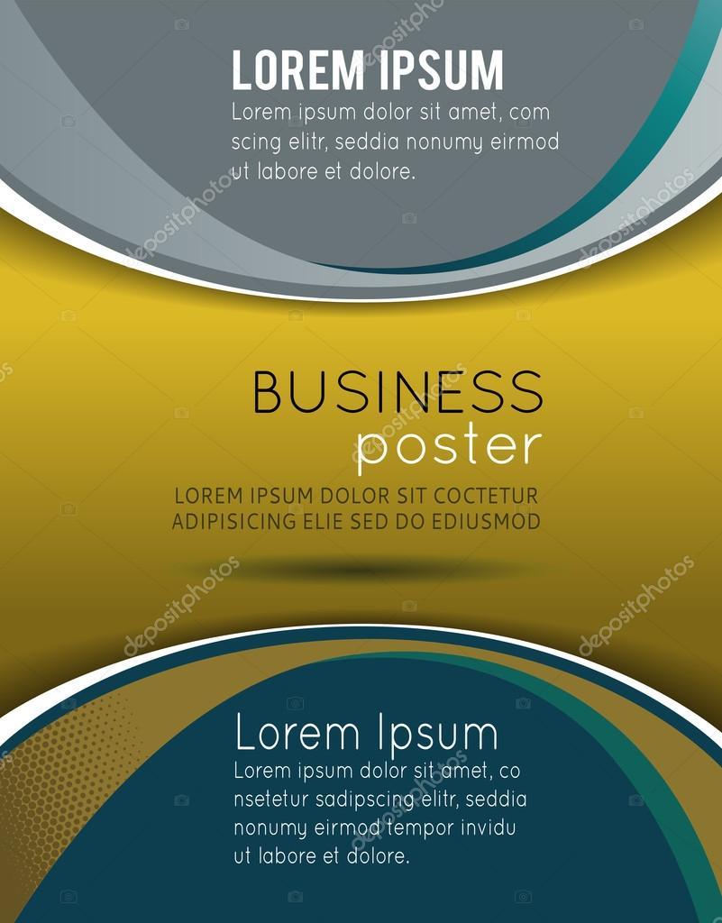 Stilvolle Business-Präsentation-Vorlage — Stockvektor © igordudas ...