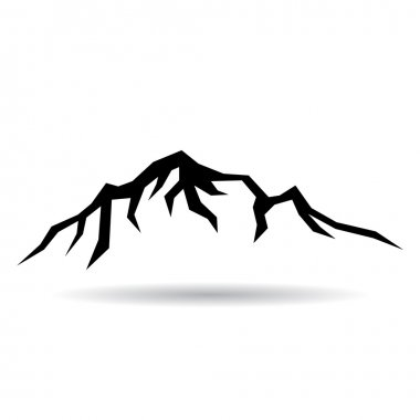Mountain vector icon
