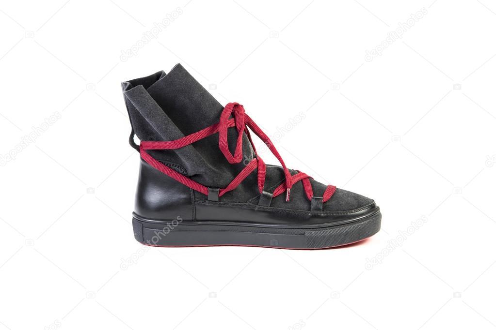 4dbd1dc4f02 Κομψά Γυναικεία παπούτσια με κορδόνια, σε απευθείας σύνδεση πώληση– εικόνα  αρχείου
