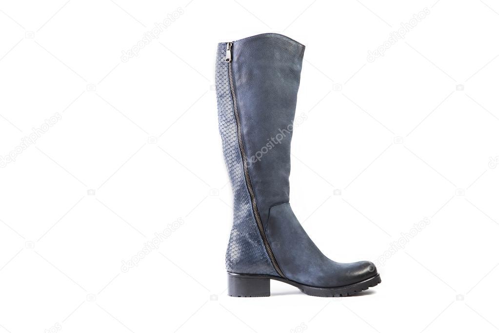 blauwe laarzen online