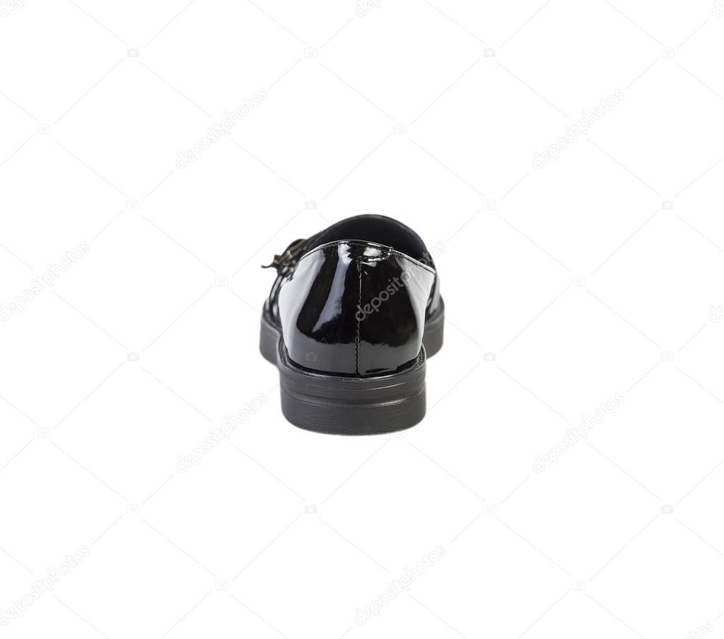 Černé boty na bílém pozadí ba0cee80d83