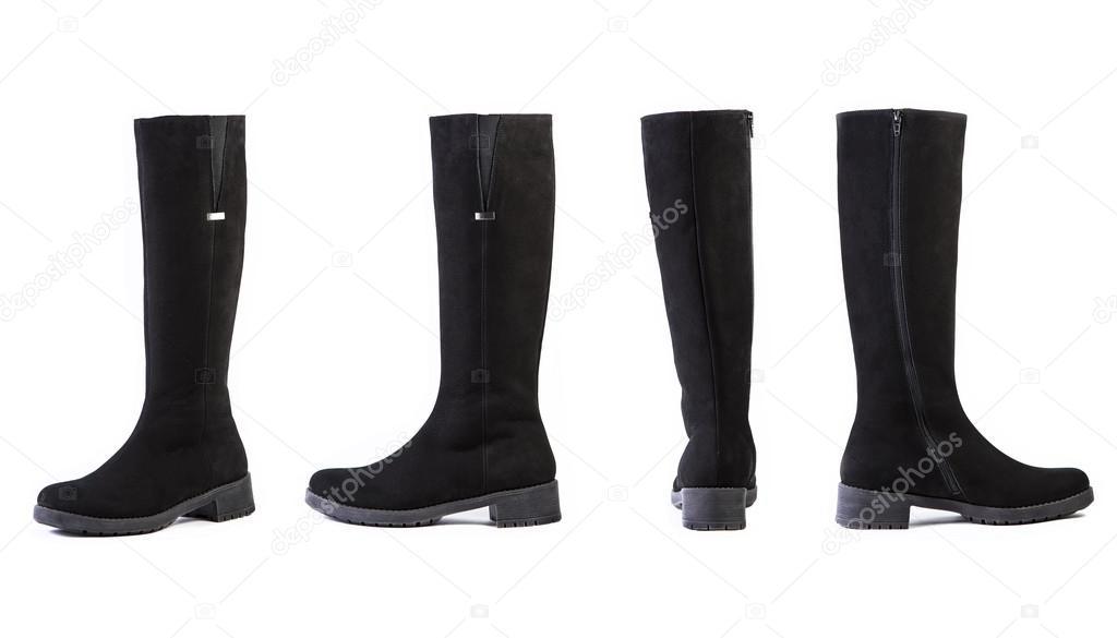 b1f16930c botas para mujer de zapatos sobre fondo blanco