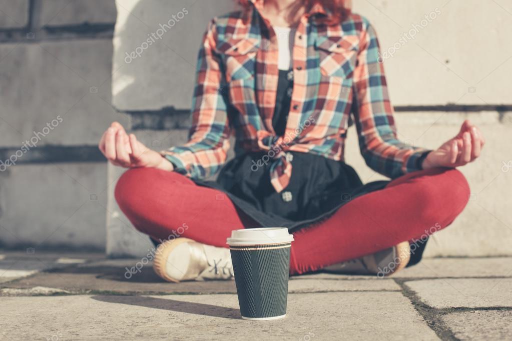 По выходным - йога
