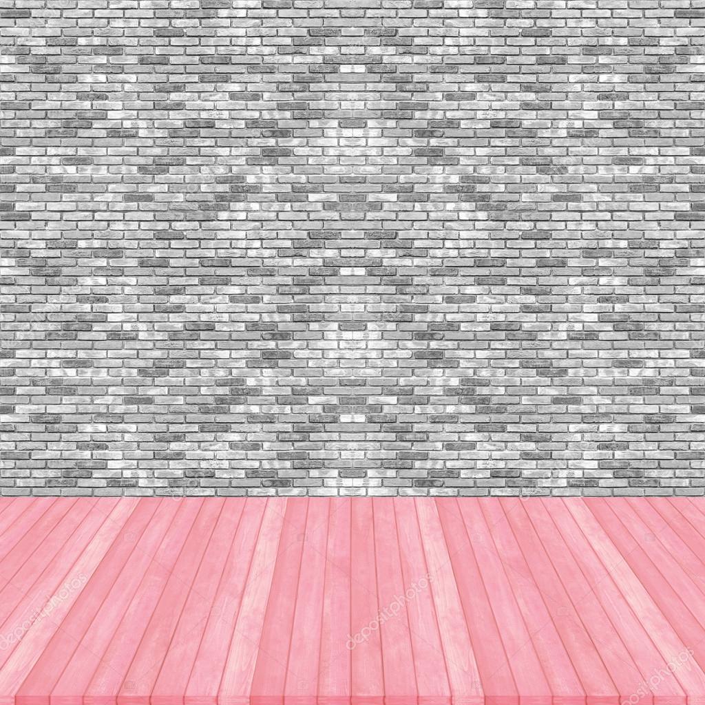 Perspectiva de color rosa pastel de piso de madera en for Pisos de madera color gris
