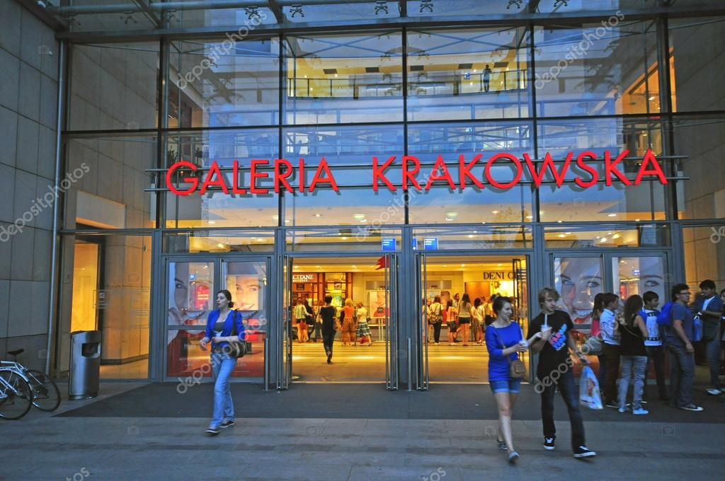 Shopping Centre In Krakow Poland Stock Editorial Photo Krasnevsky 58758925