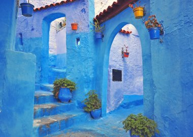 Blue house of Chefchaouen