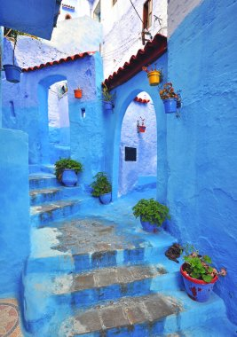 Blue house in Chefchaouen