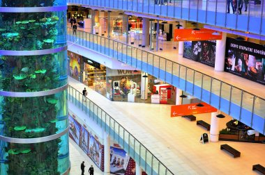 Aviapark shopping centre, Moscow, Russia