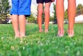 gyerekek lába