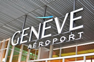 Geneva airport logo