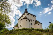 Fotografie Nový hrad nad městem Banské Štiavnice