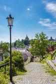 Fotografie Pohled na město Banské Štiavnice