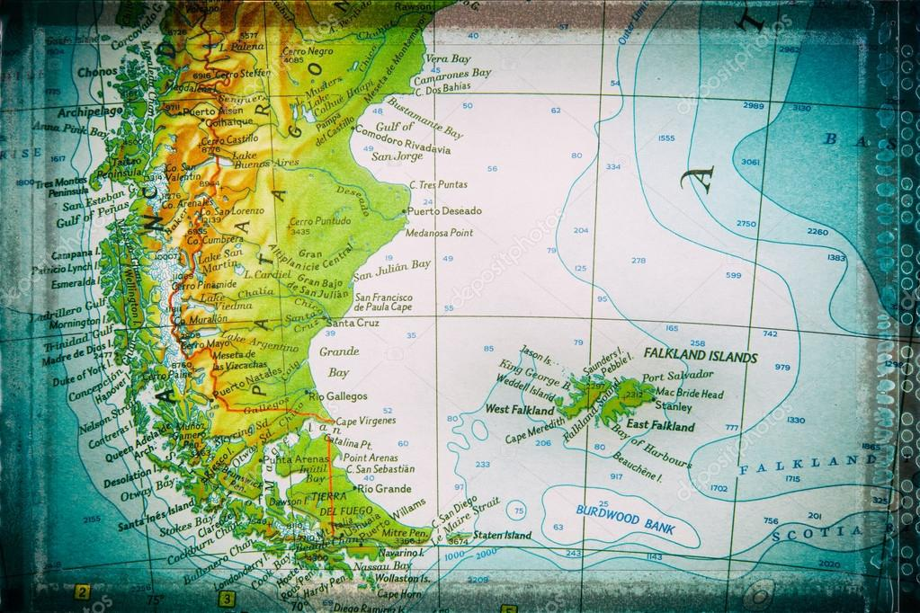 size 40 d3f32 0279b Patagonia and Falkland Islands — Stock Photo © Dagobert1620 ...