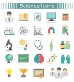 tudomány ikonok