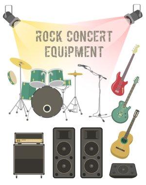 Rock Concert Equipment