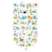 Vector Russian alphabet