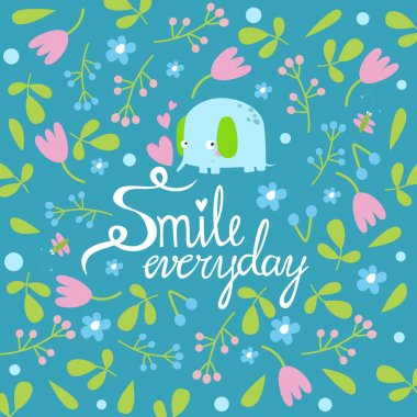 smile every day background