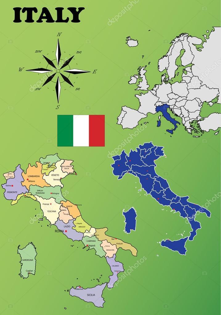 Cartina Italiana Dettagliata.Cartina Italia Politica Vettori Stock Immagini Disegni Cartina Italia Politica Grafica Vettoriale Da Depositphotos