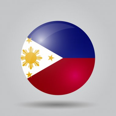 Circular flag - Philippines