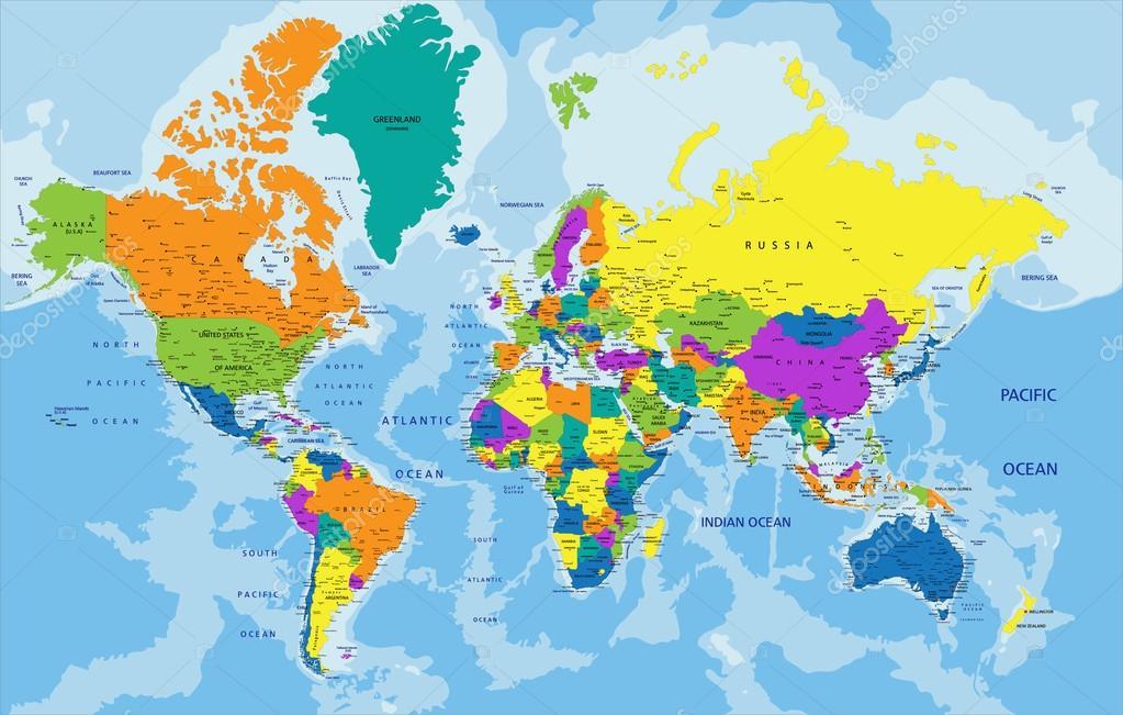världskartan
