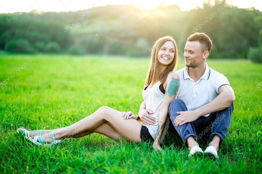 фото на природе пары