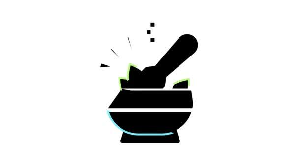 spice mortar color icon animation