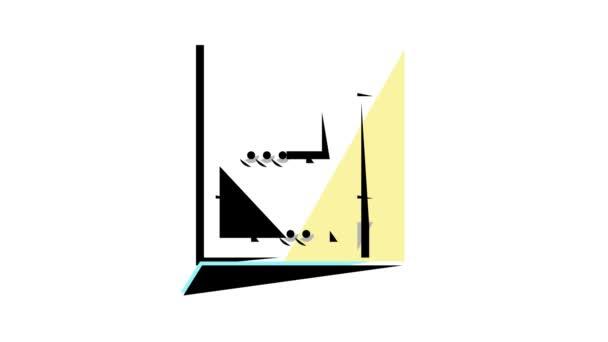 animace ikon elektrického zapojení