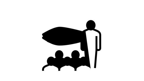 tonhal árverés piaci vonal ikon animáció